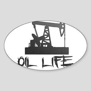Honeycomb Oil Life Pumpjack Sticker