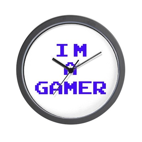 I'M A GAMER Wall Clock
