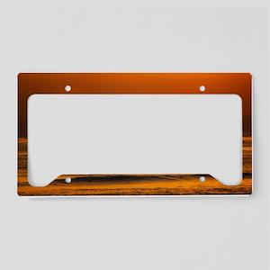 Endless Sunset License Plate Holder