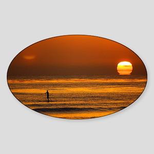 Endless Sunset Sticker (Oval)