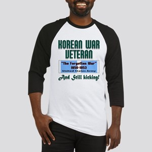 Korean War Army Veteran Baseball Jersey