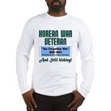 Korean war Long Sleeve T-shirts