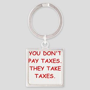 taxes Keychains