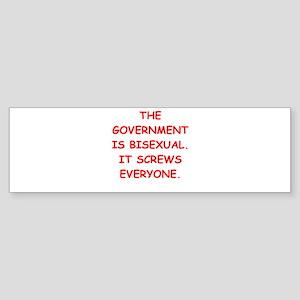 big bad government Bumper Sticker