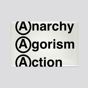 Anarchy Agorism Action Magnets