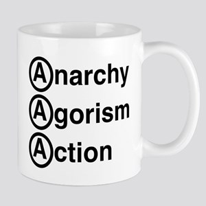 Anarchy Agorism Action Mugs