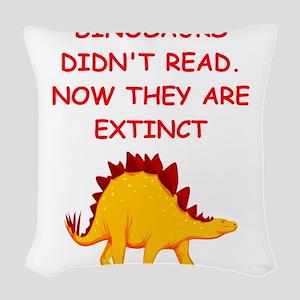 read Woven Throw Pillow