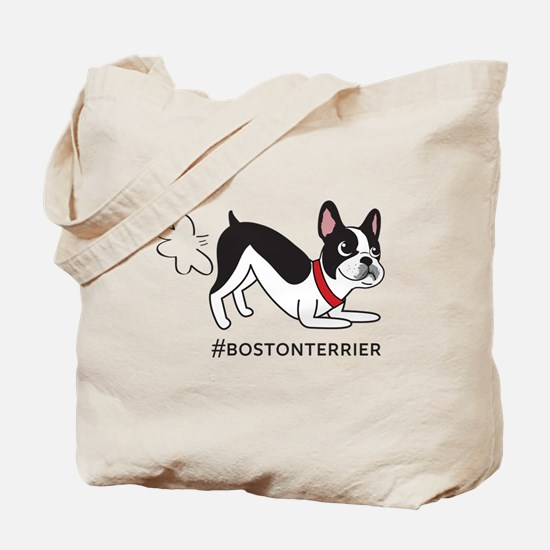 Boston terrier fart problems Tote Bag