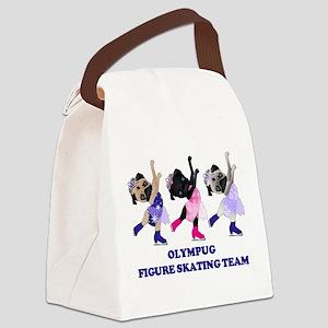 Olympug Figure Skating Team Canvas Lunch Bag