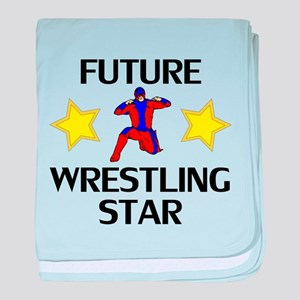 Future Wrestling Star baby blanket