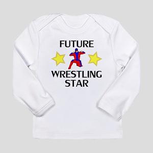 Future Wrestling Star Long Sleeve T-Shirt