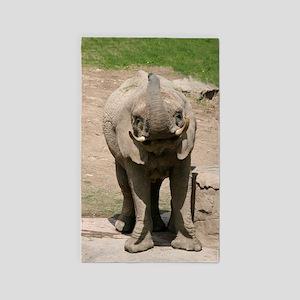 elephant001 3'x5' Area Rug