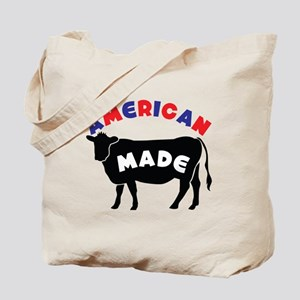 AMERICAN MADE cow or beef Tote Bag