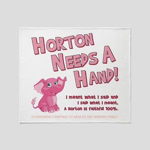 Horton Needs... Throw Blanket