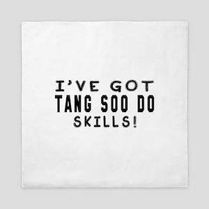 Tang Soo Do Skills Designs Queen Duvet