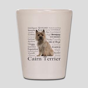Cairn Terrier Traits Shot Glass