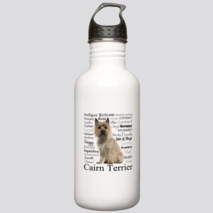 Cairn Terrier Traits Water Bottle