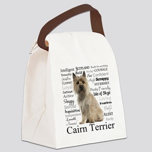 Cairn Terrier Traits Canvas Lunch Bag