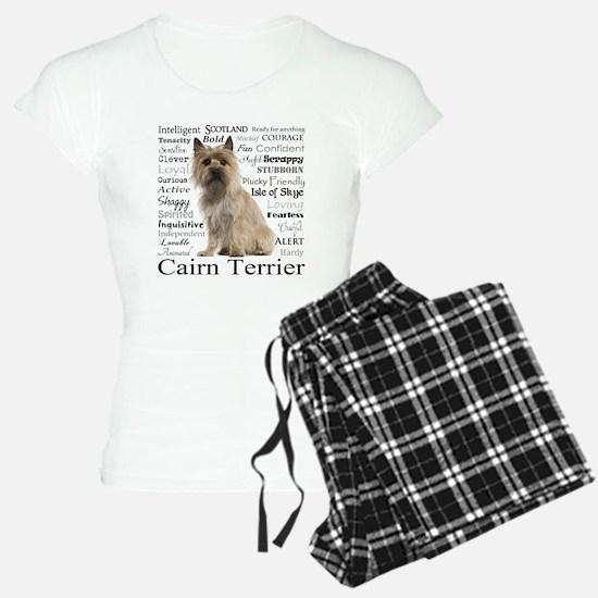 Cairn Terrier Traits Pajamas