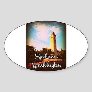 Spokane, Washington Sticker