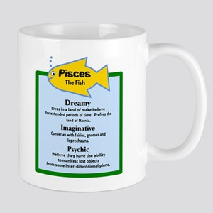 Pisces-Zodiac Sign Mugs