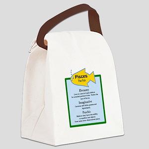 Pisces-Zodiac Sign Canvas Lunch Bag