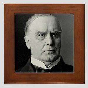 William McKinley Framed Tile