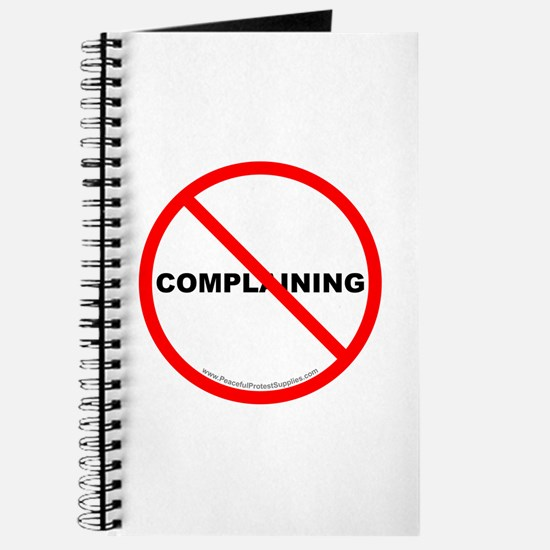 Stop Complaining Journal
