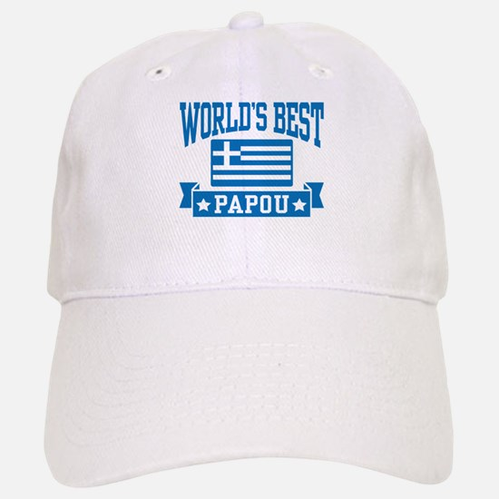 World's Best Papou Baseball Baseball Cap