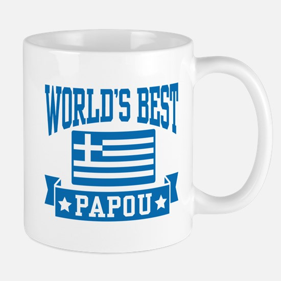 World's Best Papou Mug