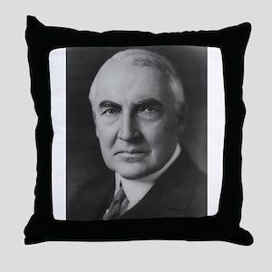 Warren G. Harding Throw Pillow