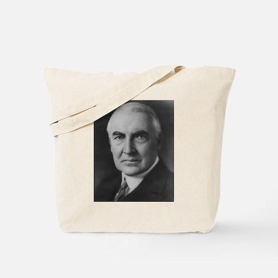 Warren G. Harding Tote Bag