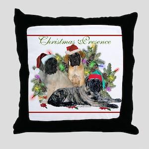 Mastiff Presence Throw Pillow