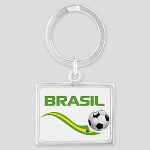 Soccer Brasil Keychains