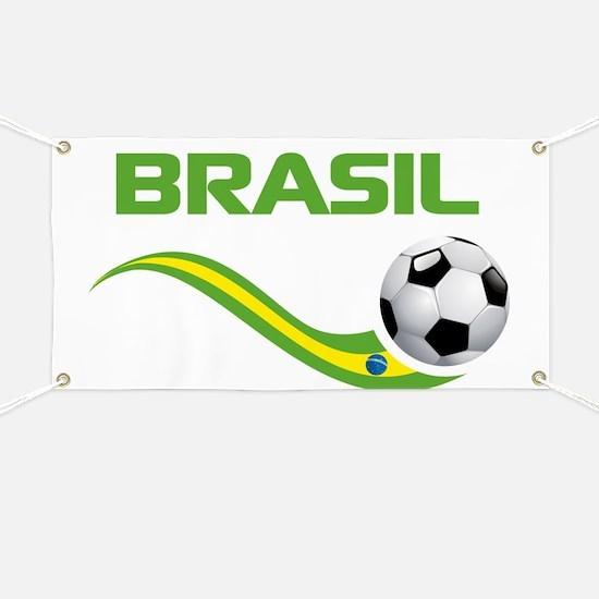 Soccer Brasil Banner