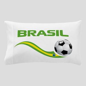 Soccer Brasil Pillow Case