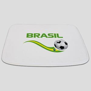 Soccer Brasil Bathmat
