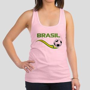 Soccer Brasil Racerback Tank Top