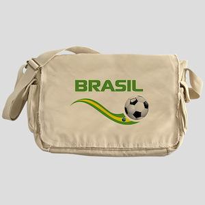 Soccer Brasil Messenger Bag