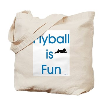 Flyball is Fun Tote Bag