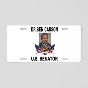 BEN CARSON SENATOR Aluminum License Plate