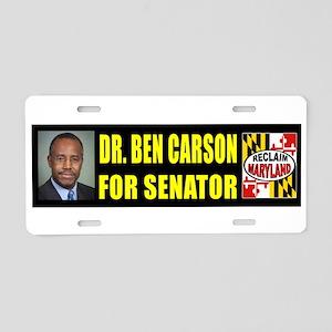 CARSON FOR SENATOR_001 Aluminum License Plate