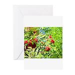 Rowan berries Greeting Cards