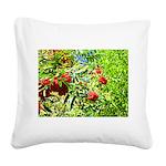 Rowan berries Square Canvas Pillow