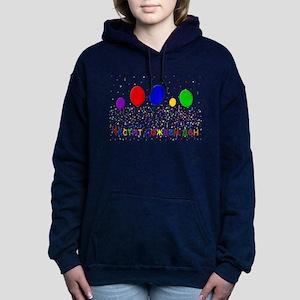 Bulgarian Happy Birthday Hooded Sweatshirt
