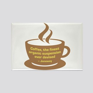 Star Trek Janeway Coffee Rectangle Magnet