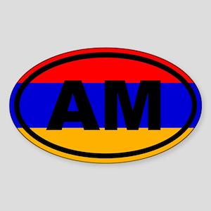 Armenia AM Flag Sticker