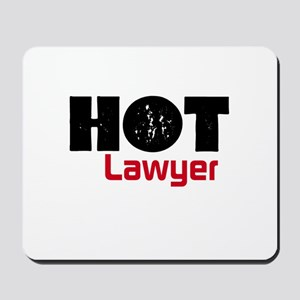 Hot Lawyer Mousepad