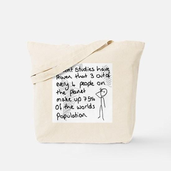 Statistics Joke Tote Bag
