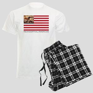 Neanderthal-American Flag Pajamas